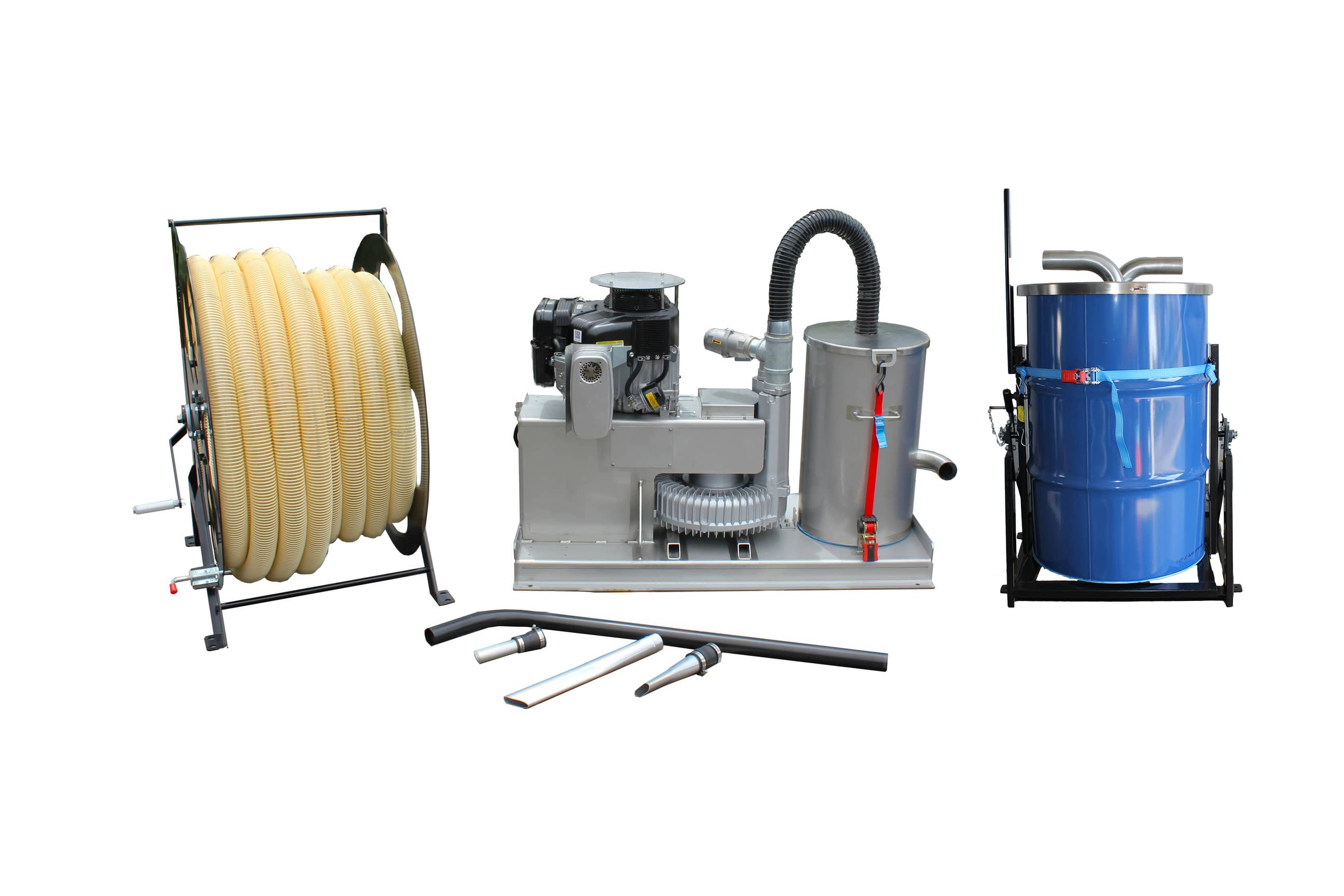 gutter vacuum machine