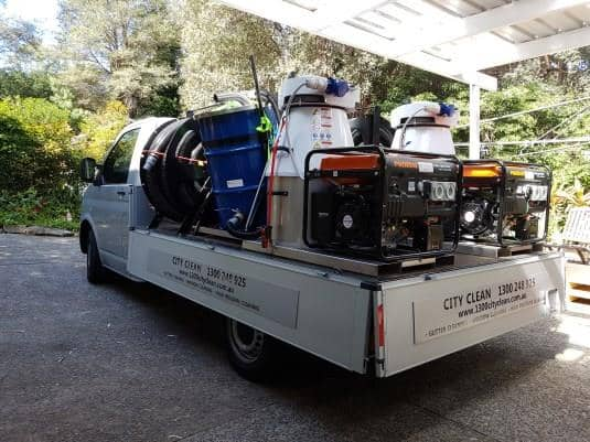 gutter vacuum equipment