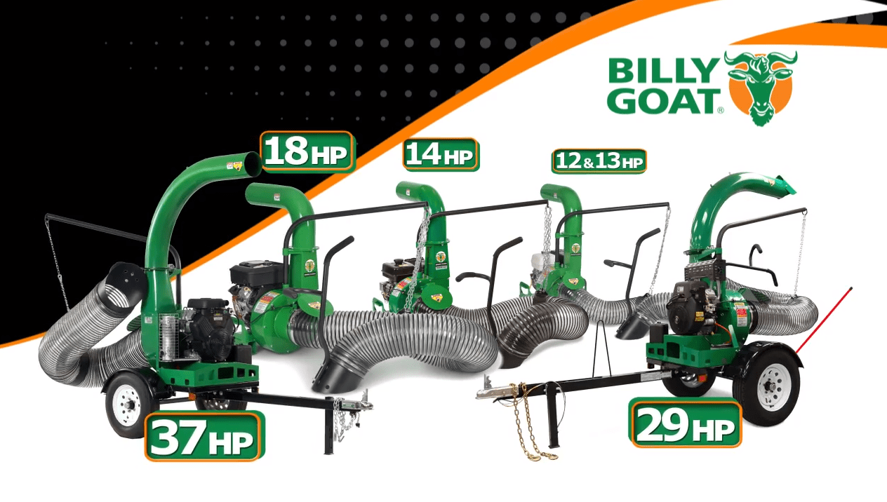 Litter And Leaf Vacuum Solutions Billy Goat Truck Loaders